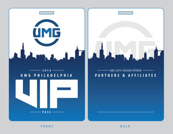 UMG VIP Design (Winning Entry) on Behance VIP passes Pinterest - free vip pass template