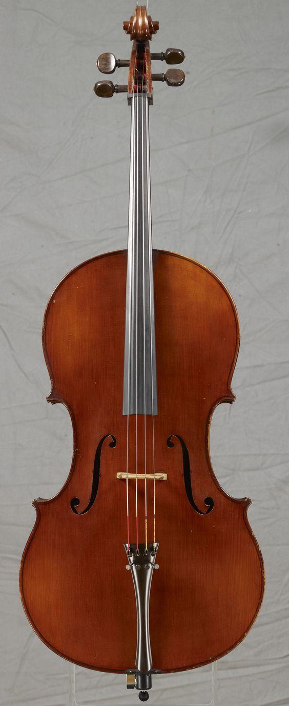 Violoncelle de Eugène LANGONET _ Nantes 1934 _ Excellent état _ 22000 Euros