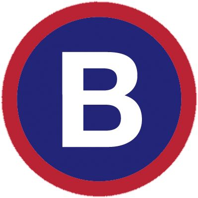 B logo for bcycle Waterloo, WI