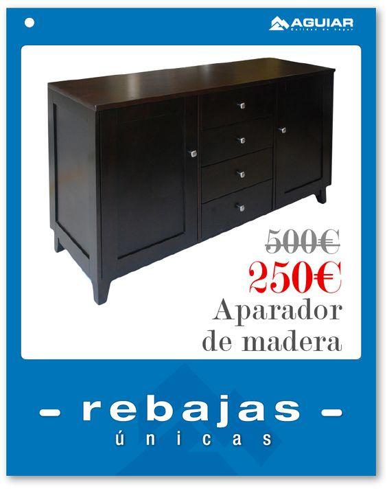 Precioso aparador wengué     www.aguiar.es