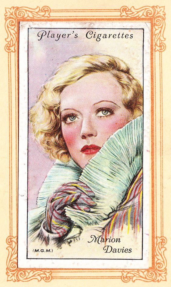 Marion Davies Player's Album of Film Stars, 1934