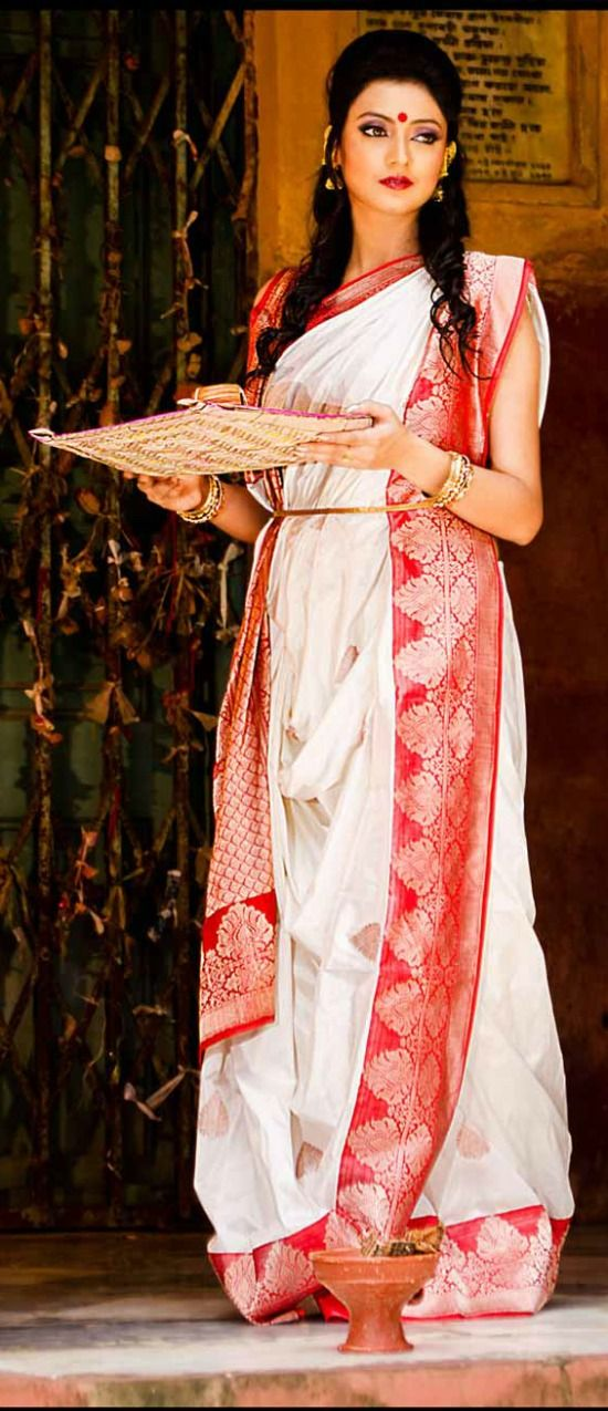 Image result for typical bengali sarees