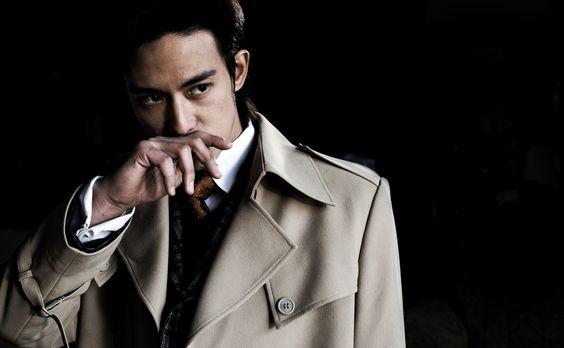 [フリー画像素材] 人物, 男性, アジア男性, コート, 中国人 ID:201311240400
