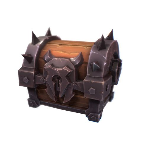 Orc Dungeon Loot Chests Hand Painted Series 3d Interior Unity Asset Store Game Concept Art Props Art Game Props