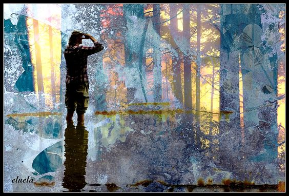 #digitalart #art #kunst #abstract #photography #wasser #water #mann #men