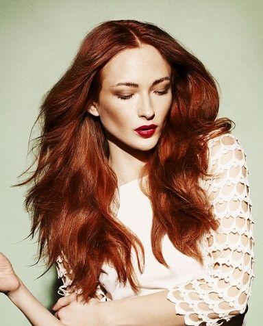 coloration rousse tendance fils cheveux roux et tendances - Coloration Rousse