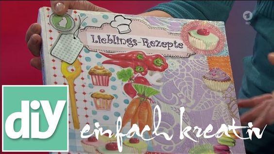 Selbstgemachtes Kochbuch | DIY einfach kreativ