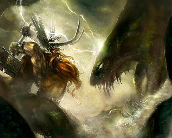 Relationship Between Norse Gods and Giants