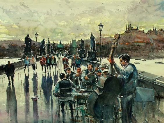 Maximilian Damico - Jam Session on the Bridge