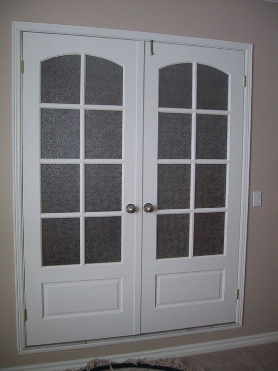 French doors .. replace glass sliding doors in dining room... or replace with Dutch doors!