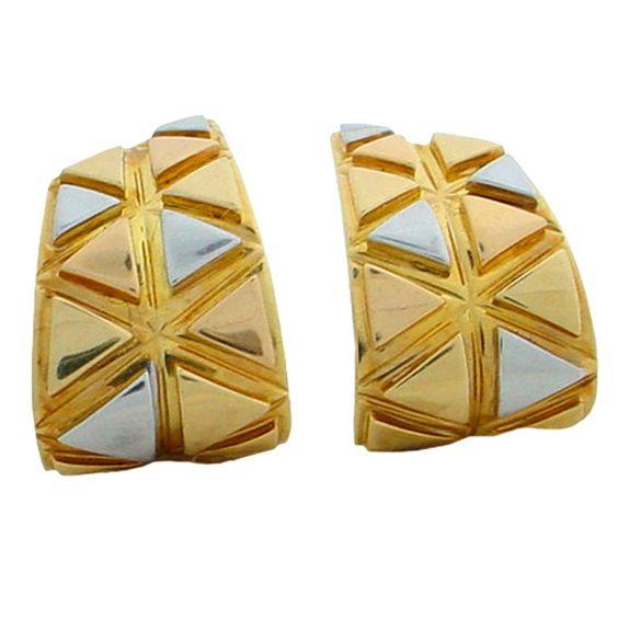 MARINA B Hoop Earrings