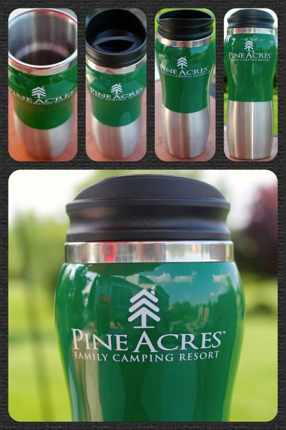 This 14 oz tumbler/travel mug is foam insulated and made of acrylic and stainless steel. The cap is a push on swivel lid.  Available in a selection of 12 different colors, you can split up your order into as many as you like. Minimum of 48 pieces!  Stock them in your store, or give them away as thank you gifts. Special pricing available! Call us or visit www.beachhouselogos.com to find out more!  #camping  #camp_store  #gifts  #gift_store  #gift_shop