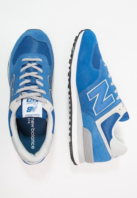 New Balance ML574 - Sneakers laag - classic blue - Zalando ...