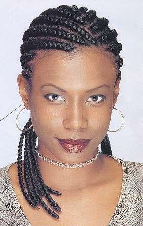 Strange Style Extensions And Cornrow On Pinterest Short Hairstyles For Black Women Fulllsitofus