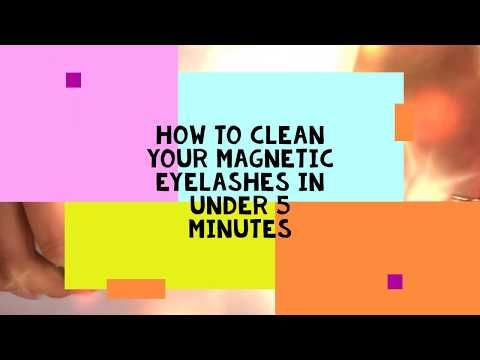 How I Like To Clean Magnetic Eyelashes Youtube Magnetic Eyelashes Magnetic Lashes Eyelash Tips