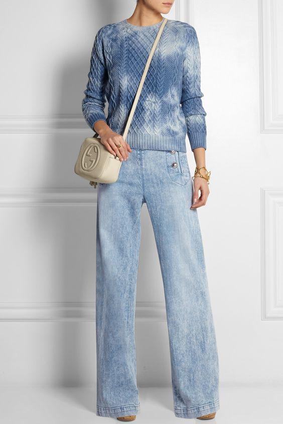 Gucci|High-rise flared jeans|NET-A-PORTER.COM