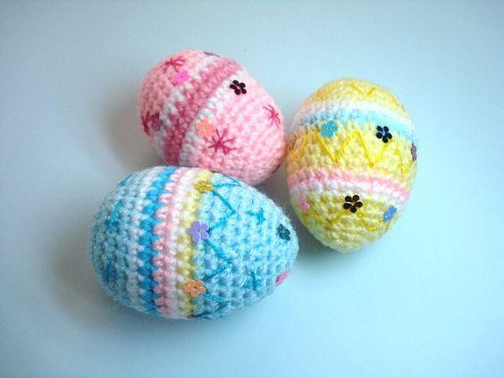 Amigurumi Easter Egg : Crochet Amigurumi Style Easter Egg - Pastel Yellow ...