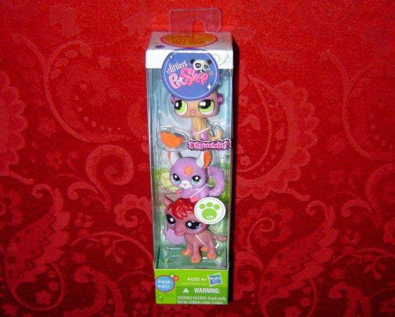 Littlest Pet Shop Pets 3Pack Meerkat Chinchilla Camel
