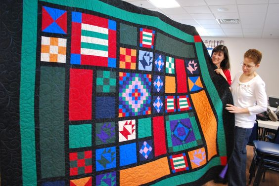 Blue Star Mothers of Vermont raffle off a breathtaking quilt!