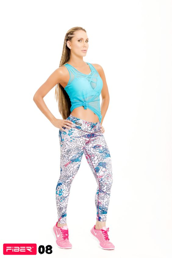 Flower Power Leggings - 08