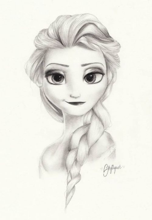 Elsa the snow queen frozen disney guys your talent is elsa the snow queen frozen disney guys your talent is making me too scared to post my elsa drawing my dirty lil secret pinterest frozen voltagebd Image collections