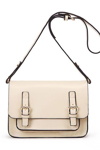 oasap | pin buckle shoulder bag $55
