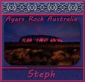 ayers rock australia tag steph