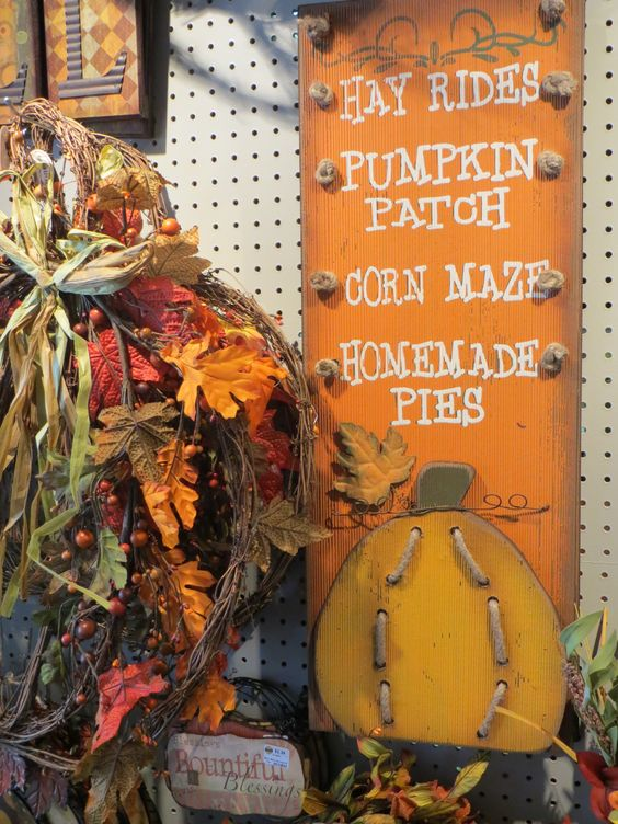 Fall decorating just got much easier!