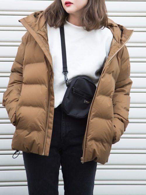 プチプラのあや Uniqloのダウンジャケット コートを使ったコーディネート Wear ダウンジャケット レディース ファッション ダウンジャケット レディース コーデ