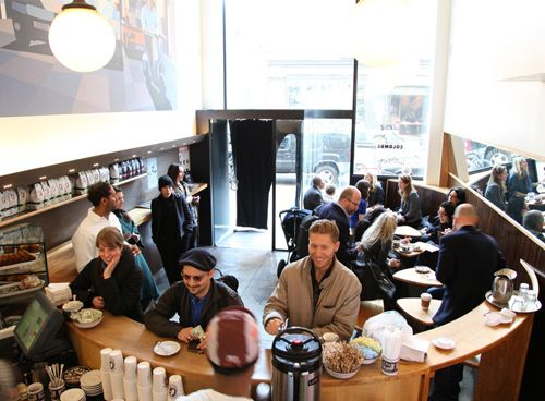 #LaColombe - #NYC ! I #love their #coffee #mugs !