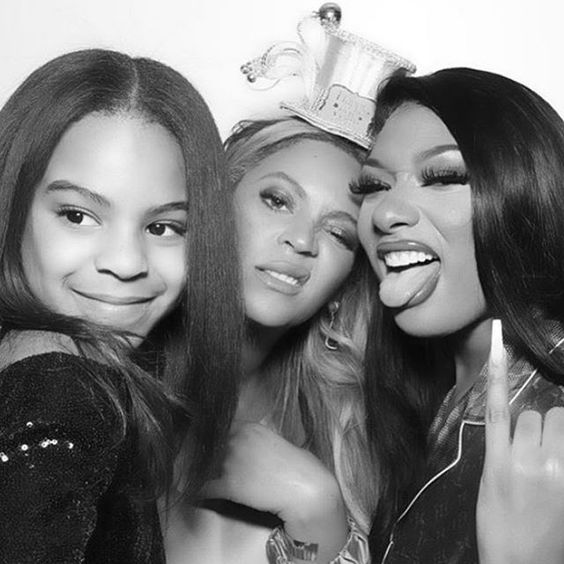 Happy New Year From Houston All We Need In 2020 Is Beyonce X Theestallion X Lizzobeeating Bop Houstontexasbaby In 2020 Blue Ivy Carter Blue Ivy Beyonce Queen