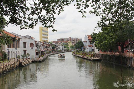 Malaca, ( malasia), la ciudad colonial patrimonio de la humanidad.