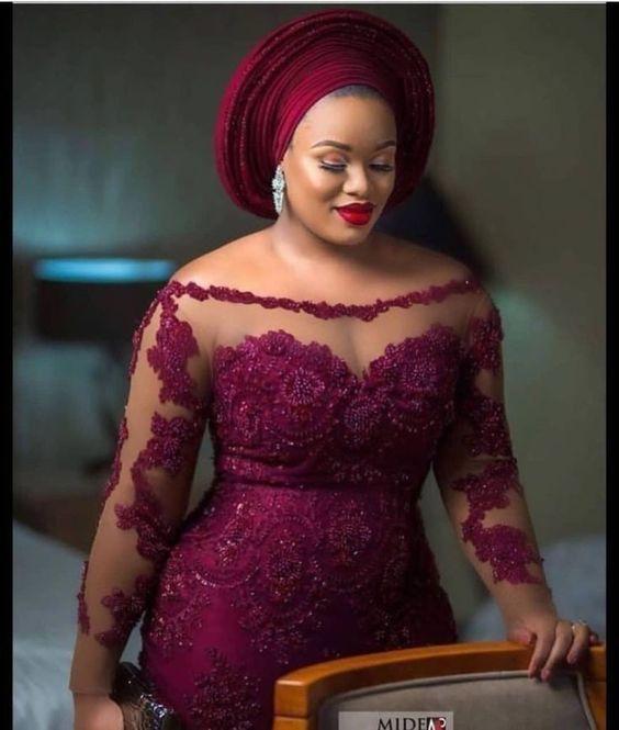 Latest Asoebi styles for wedding | DarlingNaija