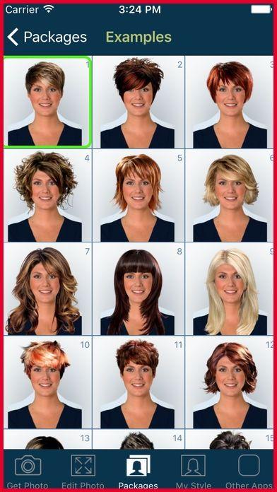 Weibliche Frisur App Neue Frisuren Gesicht Haarschnitt Neue Frisuren