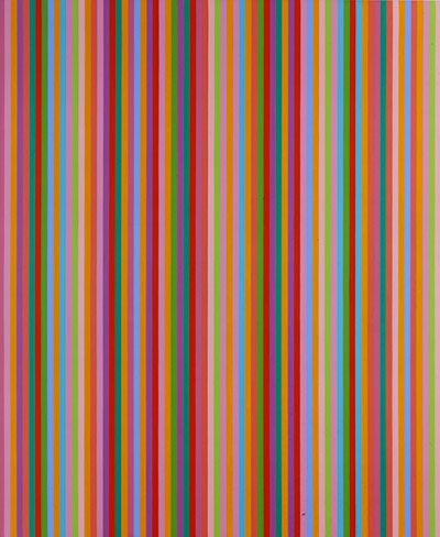 Bridget Riley, Saraband, 1985 - shows the connection to Paul Smith