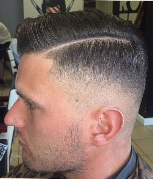 Low Fade With Part Pictures To Pin On Pinterest Pinsdaddy