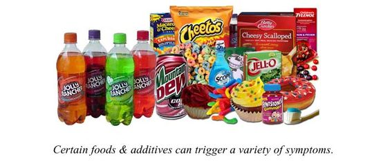 The dyes in these foods attribute to ADHD, Autism, Asthma and an array of health problems.  This is a great lifestyle change for our children.