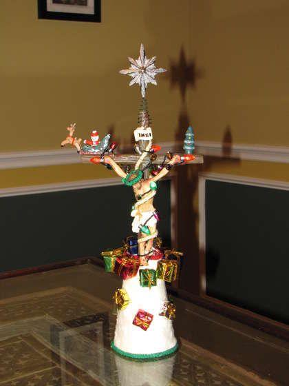 Jesus/Crucifix Christmas Tree Topper