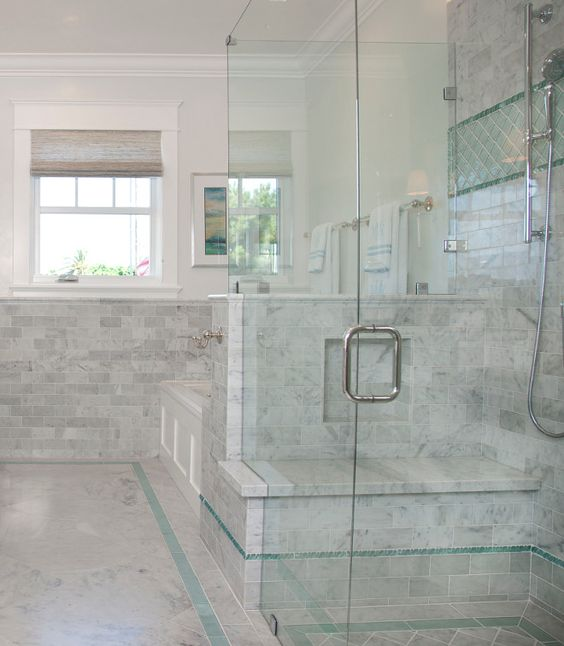 I like this except I d rather a tiled in shower then glass