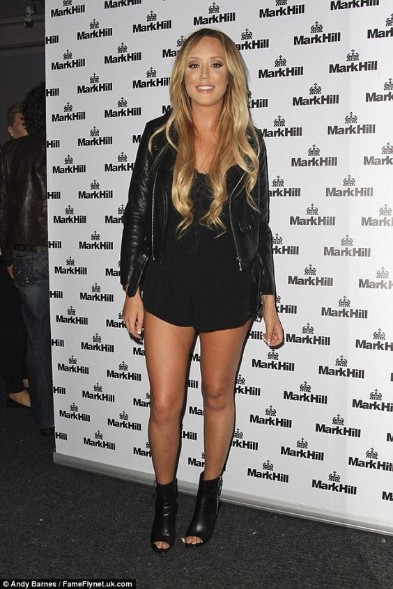 Charlotte Crosby at Mark Hill Party