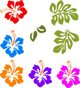Hawaii party birthday party ideas fiesta hawaiana cumple y fiestas - Tropical Mix Clip Art Moana Pinterest Clipart Negro