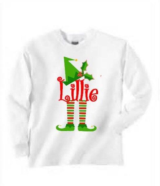 Boys Christmas Shirt - I Believe. $23.00, via Etsy. | Monogram It ...