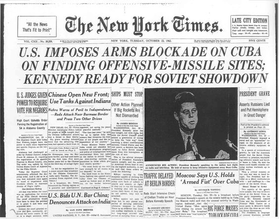 jfk cuban misssile crisis essay On october 22, 1962 president john f kennedy delivered his cuban missile crisis speech on television to alert americans that soviet missiles were discovered in cuba and that the united states would use military force if necessary an analysis of the speech reveals several rhetorical devices used to .