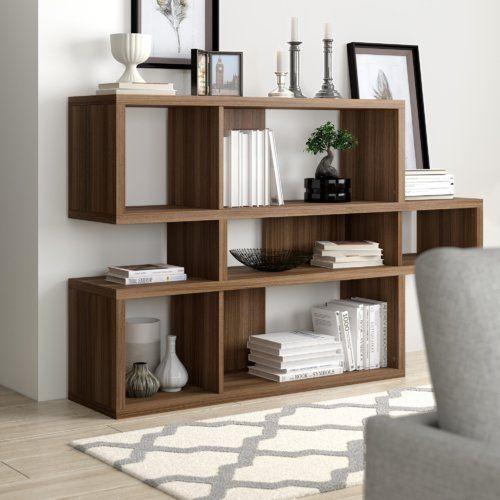 Ebern Designs Low Wide 100cm Cube Unit In 2020 Wide Bookshelf