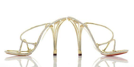 House of Borgezie Sapatos jóias