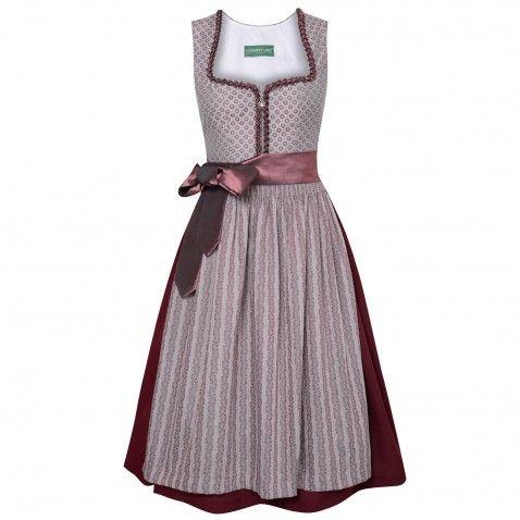Midi Dirndl Ines In Altrosa Von Country Line Dirndl Kleid Arbeit Modestil