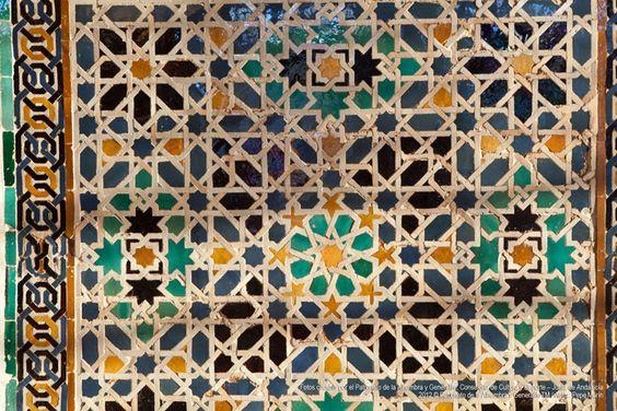 Detalles Palacios.#Alhambra #Granada