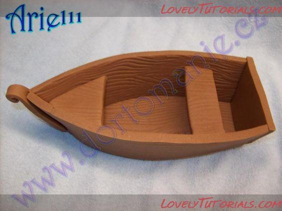 fondant/gumpaste boat tutorial