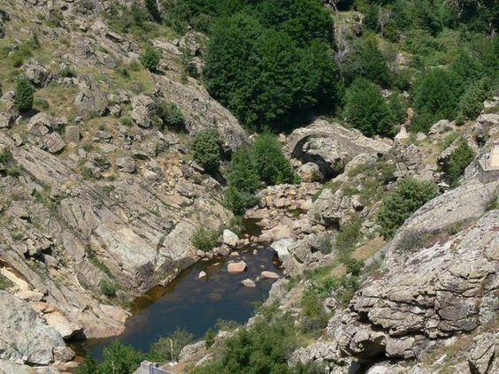 Corsica - Ponts Genois  --- Le pont génois de Calacuccia