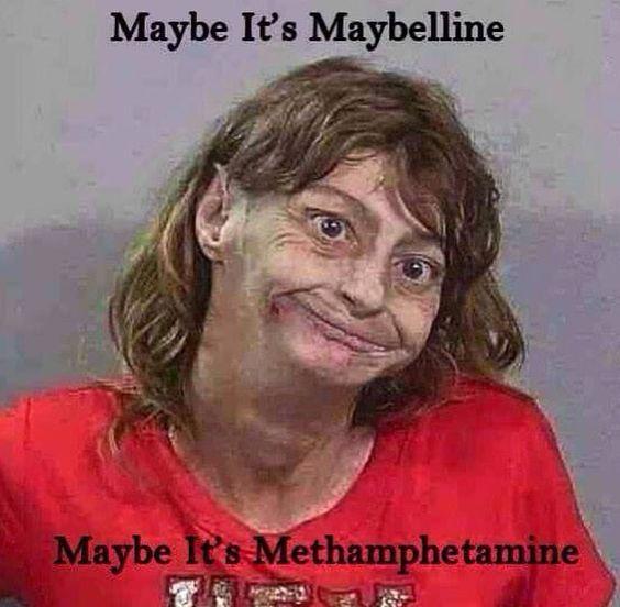 Maybe it's meth lol police humor